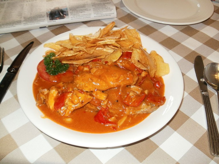 African chicken Macau