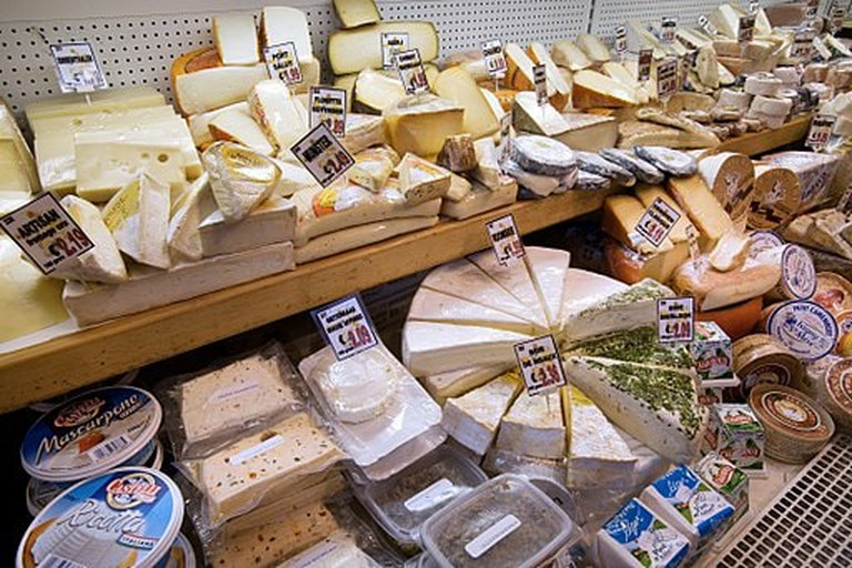 A cheese shop in Amsterdam