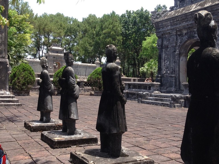 Ancient pagodas, temples and shrines are all over Hue