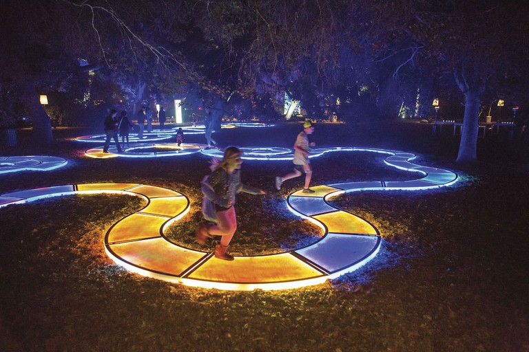 Artist's impression of Aqueous by Jen Lewin at the Royal Botanic Gardens © Morgan Sasser / Vivid Sydney