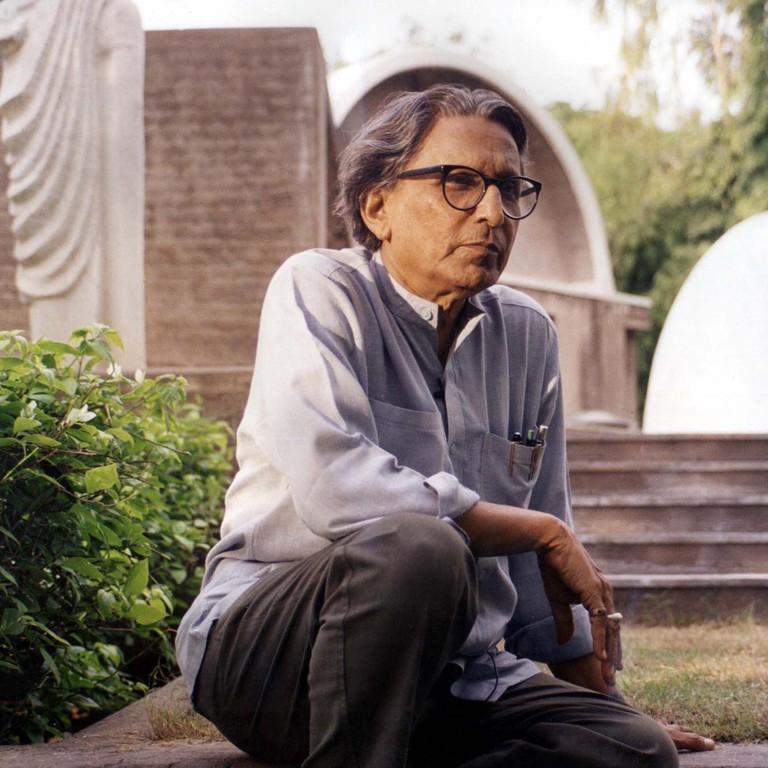 Balkrishna Doshi (photo courtesy of VSF)