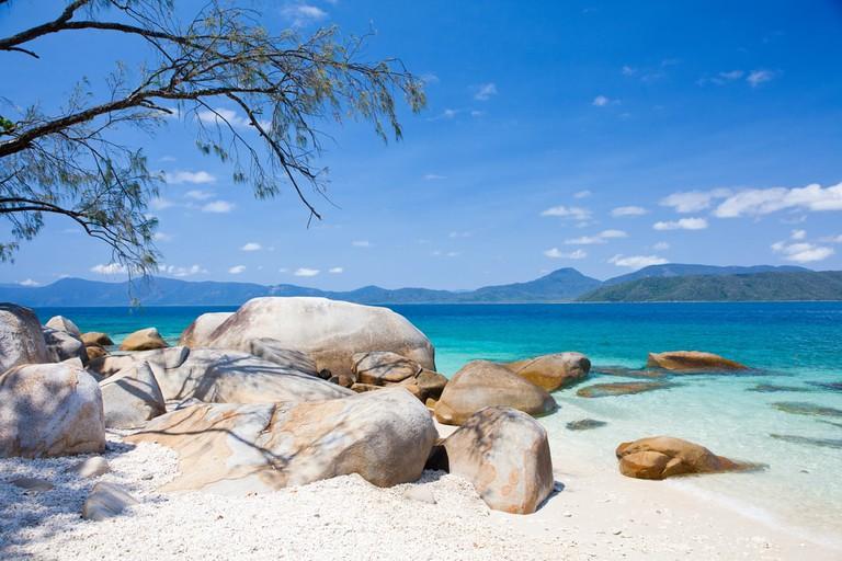 Beach on Fitzroy Island, Australia