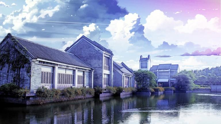 Beautiful Makoto Shinkai Housing China Wind Fantasy