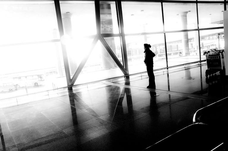 Beijing airport Tony Flickr