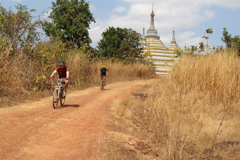 Bike World Myanmar outing