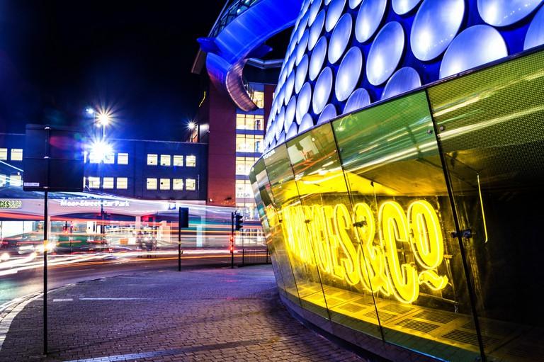 Birmingham at night | © Phil Dolby Flickr