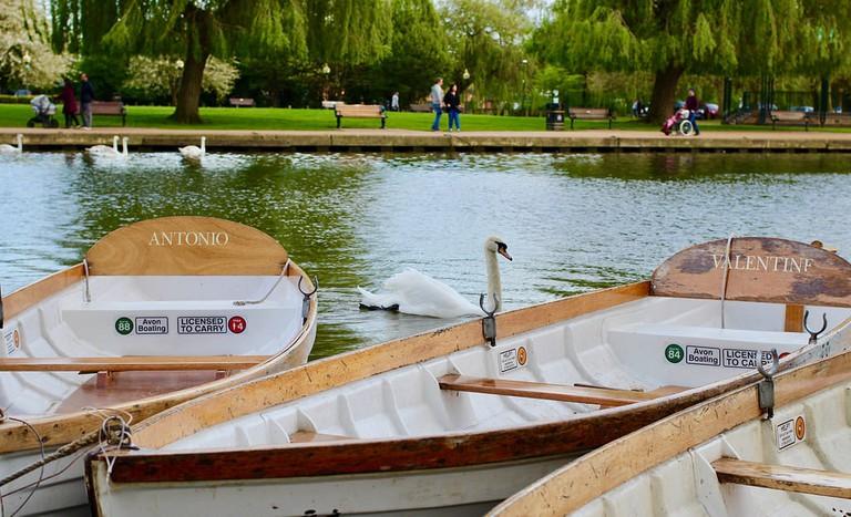 Boats on the River Avon, Stratford-upon-Avon
