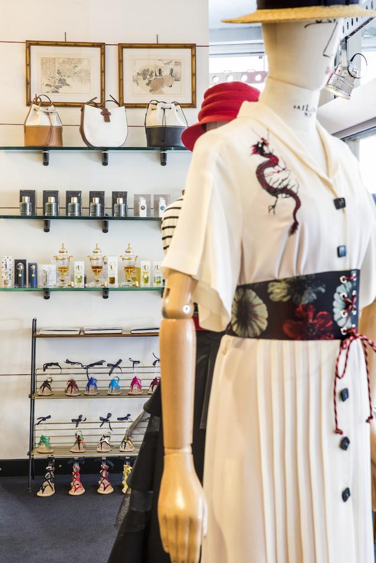 Men's boutique at L'Arabesque cult store, Milan | Courtesy L'Arabesque