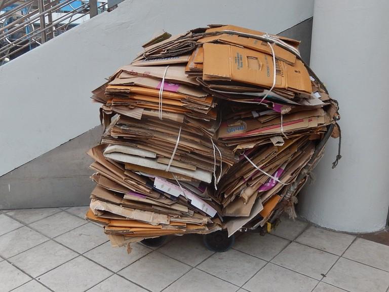 Cardboard Hong Kong