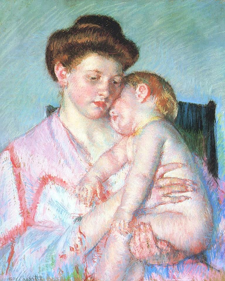 Cassatt_Mary_Sleepy_Baby_1910