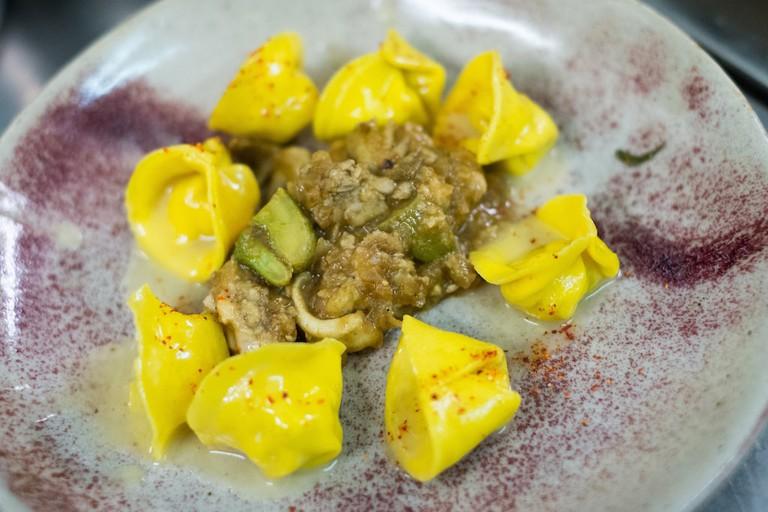 Fresh, handmade tortellini at Ristorante Consorzio, Turin | Courtesy Ristorante Consorzio
