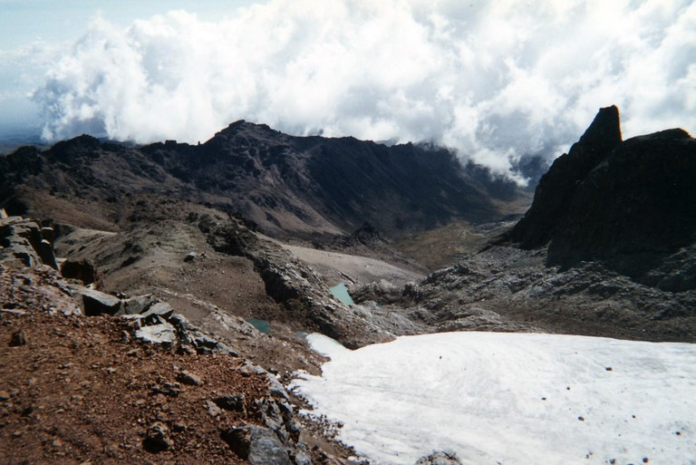 Glaciers on Mt. Kenya