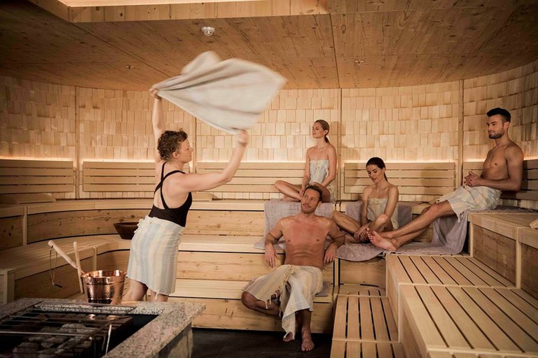 Japanese sauna style at The Well | Courtesy of The Well