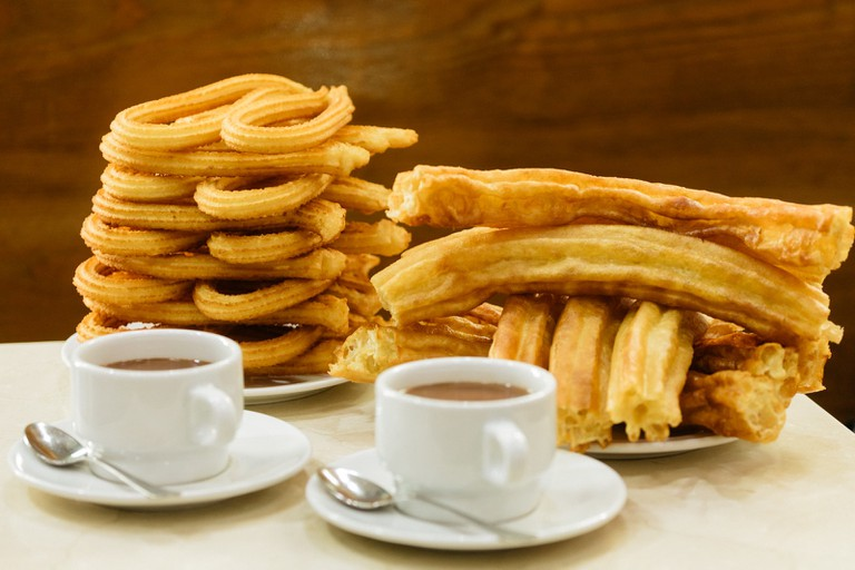 Los Artesanos Churros-Madrid-Spain