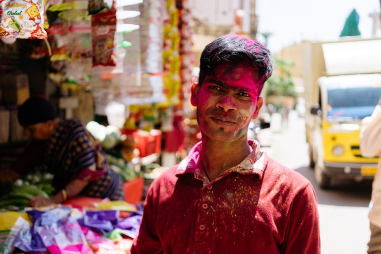 Holi Festival-Bangalore-India