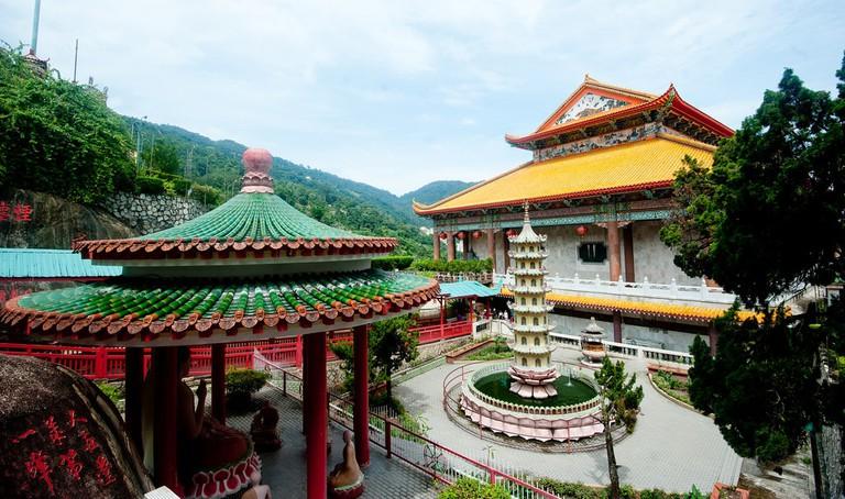 Kek Lok Si interior gardens