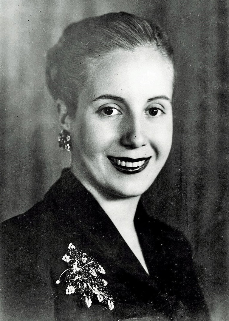 Eva Peron portrait