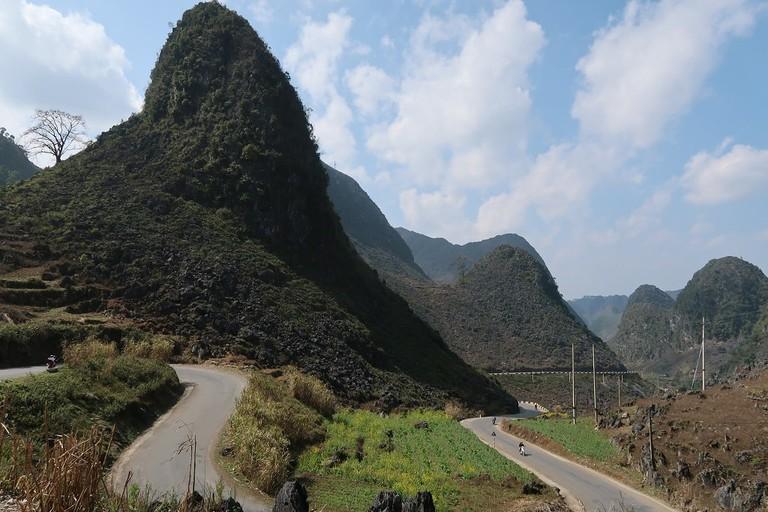 Limestone mounts of Ha Giang