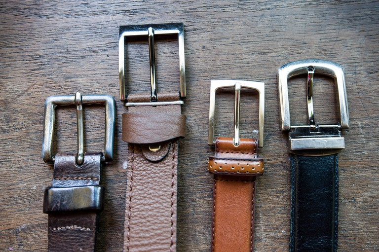 Leather belts in Argentina