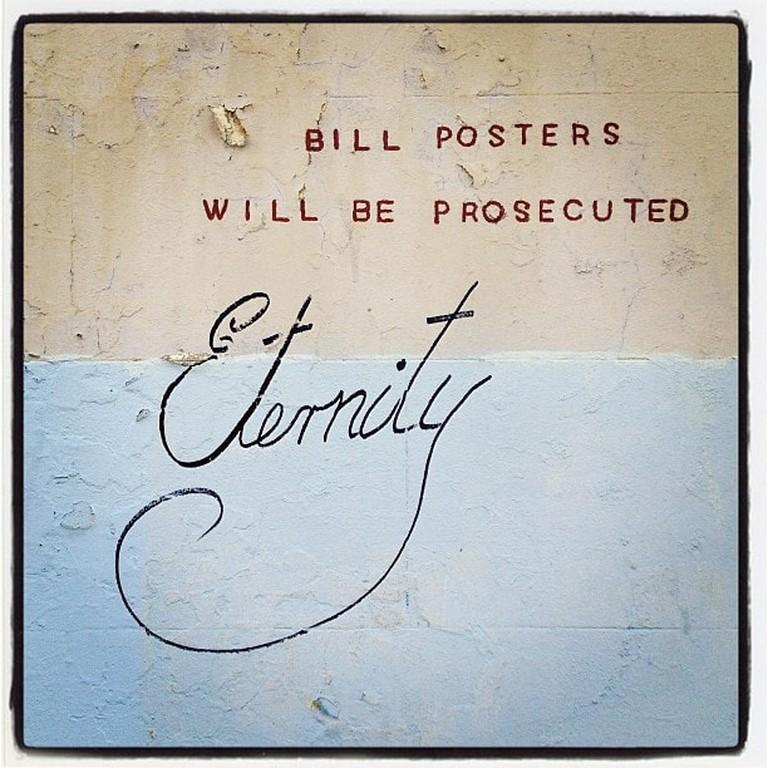 Modern eternity graffiti in Redfern © JAM Project:Flickr