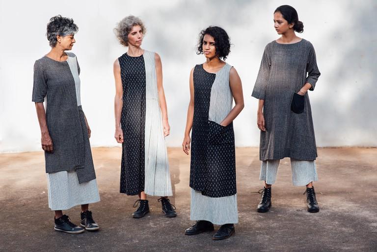 Monochrome - indigenous cotton