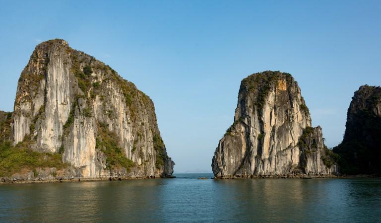 Mounts in Ha Long Bay