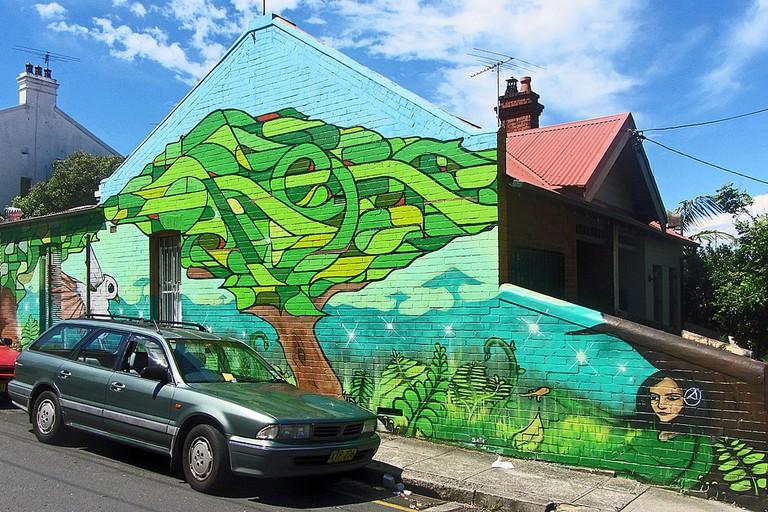 Newtown © Newtown graffiti:Flickr