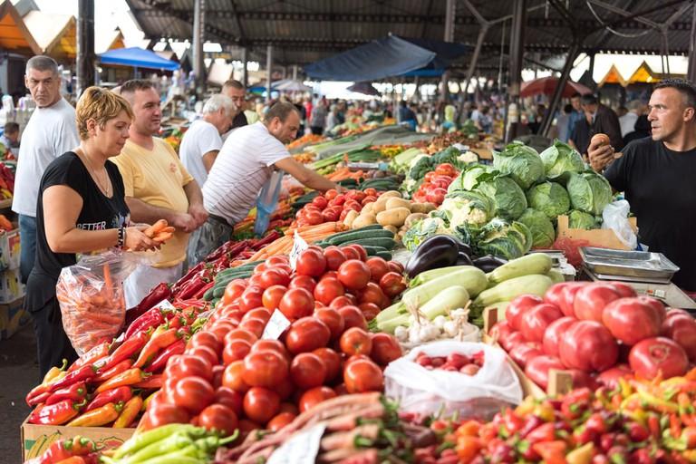 Fruits, vegetables, rakija?