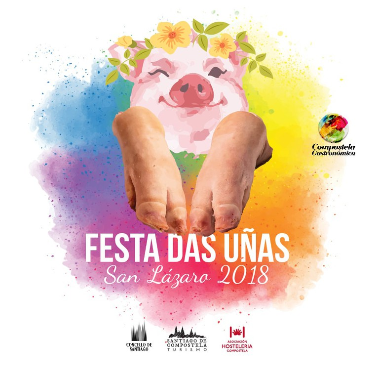festival, Santiago de Compostela, Spain