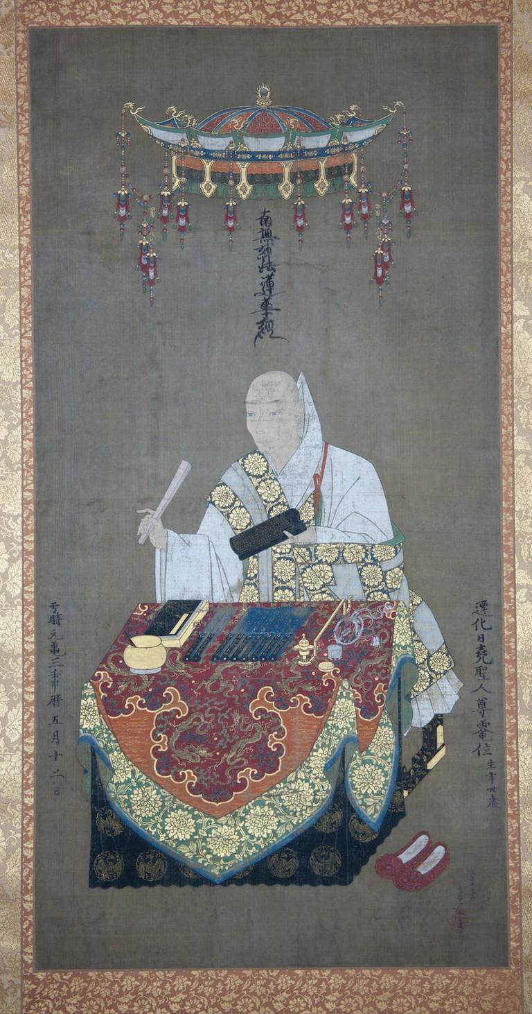 Portrait-of-Priest-Nichigyo