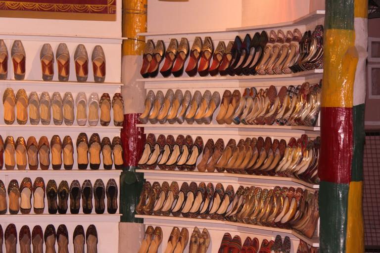Rajasthani footwear