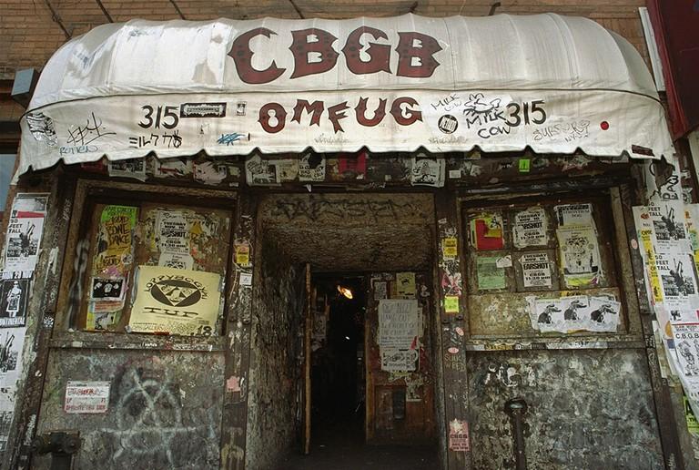 CBGB | © Jim Cooper/AP/REX/Shutterstock