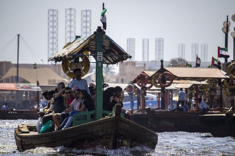 River sea boat in Dubai
