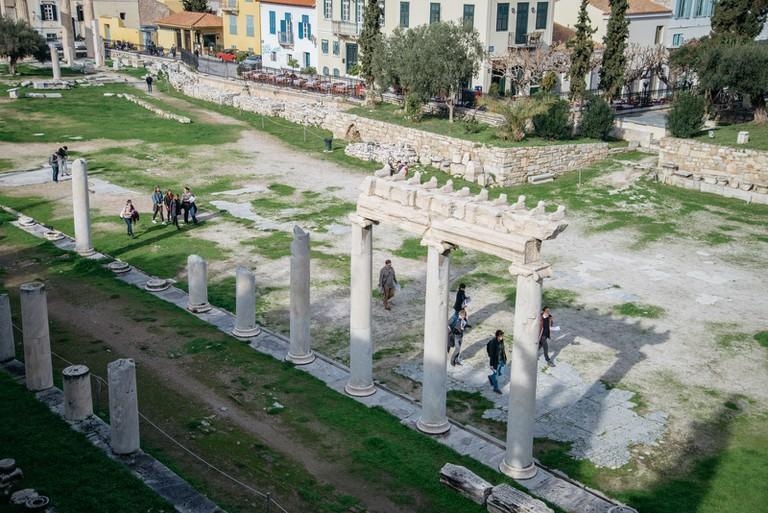 Roman Agora-Athens-Greece