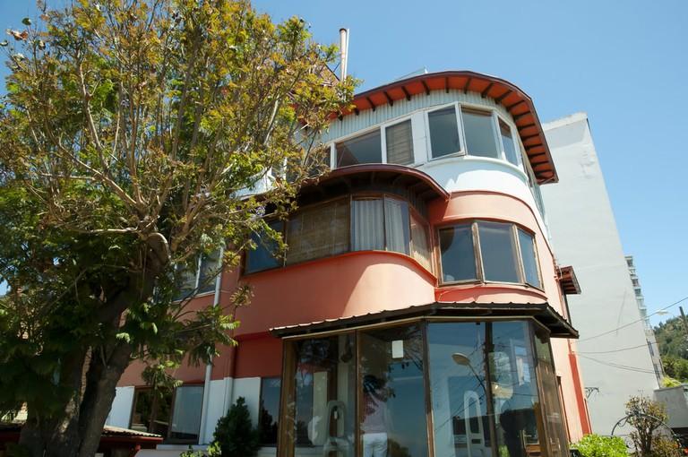 Poet Pablo Neruda House, Valparaiso, Chile | © Adwo/Shutterstock