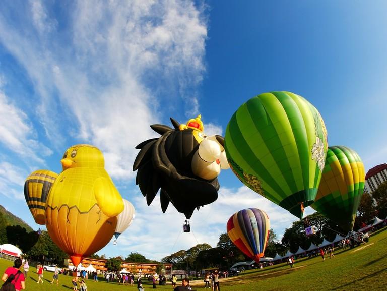 Hot air balloon fiesta at Padang Polo, Penang, Malaysia | © C.S Tan/Shutterstock