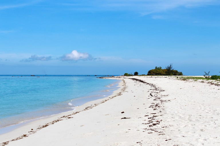 Enjoy the clean sandy beach of Pulau Tiga  © notsuperstar/Shutterstock