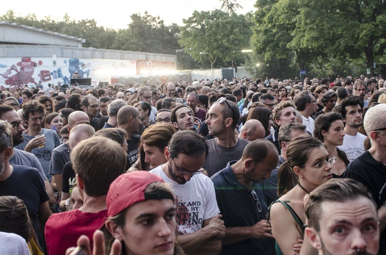 Summer concert goers at sPAZIO211 in Turin | Shutterstock/Stefano Guidi