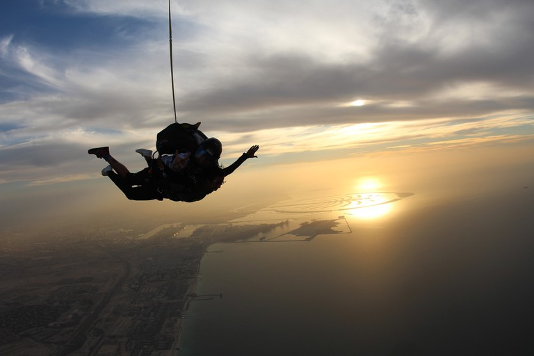 Dubai offers plenty of opportunities for adrenaline seekers