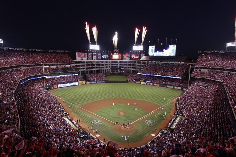 Sports - Texas Rangers/Globe Life Park