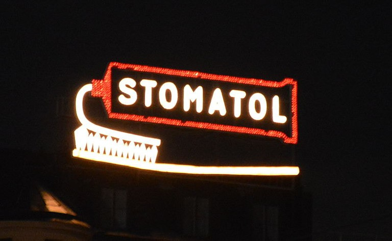 Stomatol-Werbung