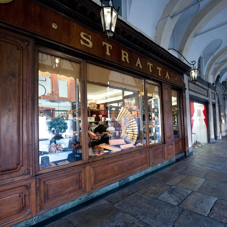 One of Turin's historic chocolatiers, Stratta | Courtesy Stratta1836