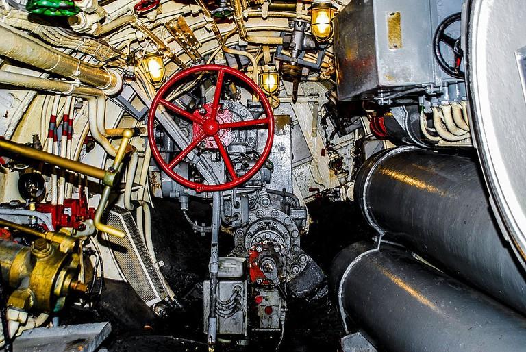 U-Boot_'Wilhelm_Bauer',_Heckraum_-_Museumshafen_Bremerhaven_(9301239018)