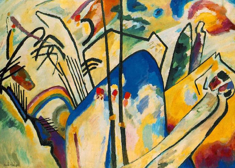 Vassily_Kandinsky,_1911_-_Composition_No_4