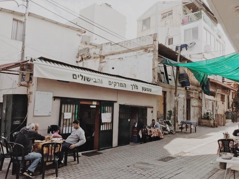 Shimon the King of Soups and Cooking, Yemenite Quarter, Tel Aviv