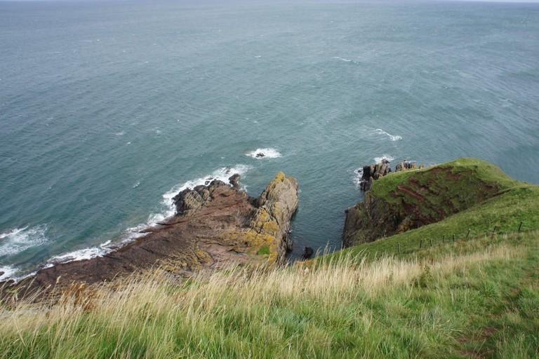 Hutton's Unconformity, Siccar Point, Scotland