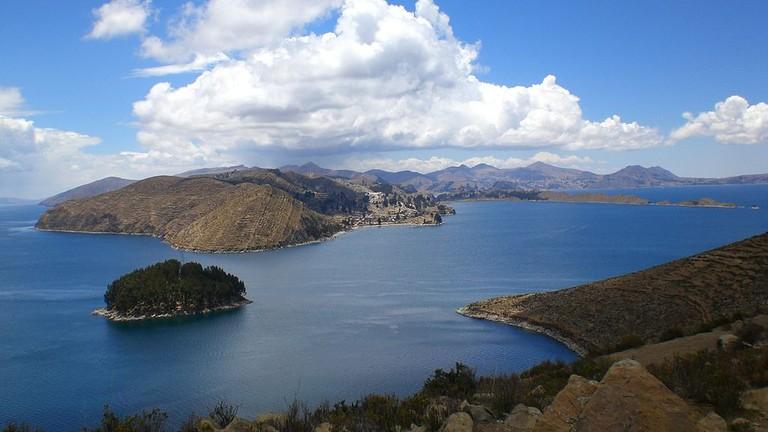 Isla del Sol Lake Titicaca Bolivia