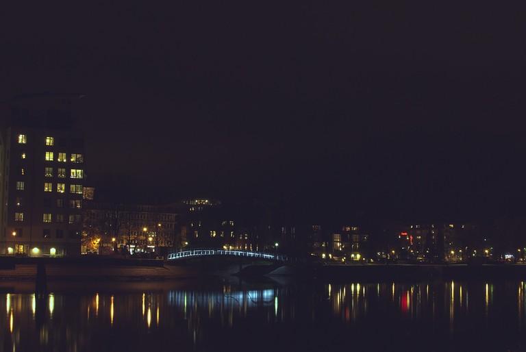 Karlstad by night