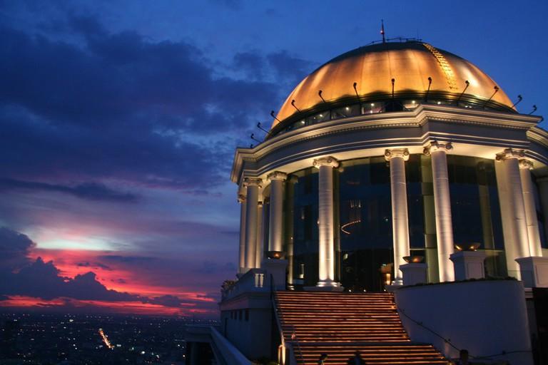 Dome at the Sky Bar in Bangkok