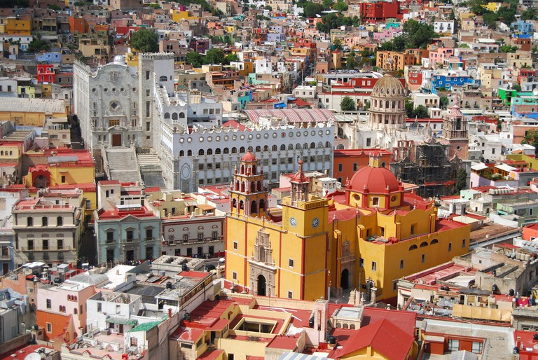 colonial cities in mexico